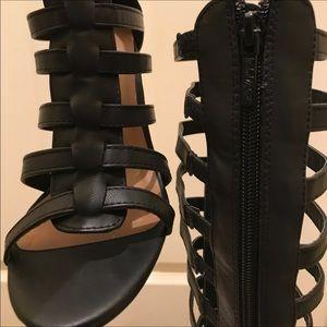 Michael Antonio Shoes - Michael Antonio_Black Gladiator Leather -Read Info